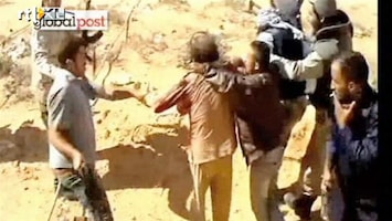 RTL Nieuws Nieuwe beelden arrestatie Khadaffi (schokkend)