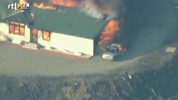 RTL Nieuws Brandweer Californië krijgt grip op bosbranden
