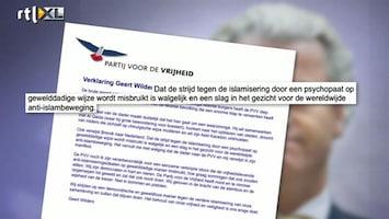 RTL Nieuws Wilders walgt van Breivik