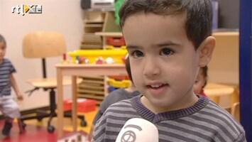 RTL Nieuws Kinderen van twee nu al naar de basisschool