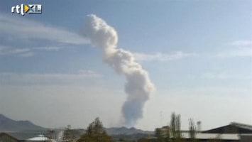 RTL Nieuws Grote explosie in wapendepot bij Teheran