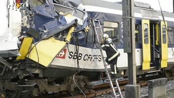 RTL Nieuws Machinist Zwitserland dood bij treinongeluk