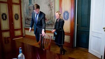 RTL Nieuws Rutte ontvangt beoogde ministers kabinet