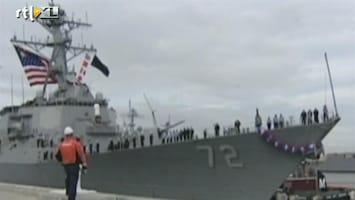 RTL Nieuws VS stuurt extra oorlogsschip richting Syrië