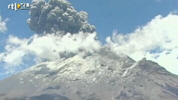 RTL Nieuws Spectaculaire uitbarsting Popocatepetl