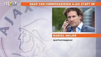 RTL Nieuws 'Op korte termijn' nieuwe leiding Ajax