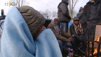 RTL Nieuws Tentenkamp Somaliërs niet ontruimd