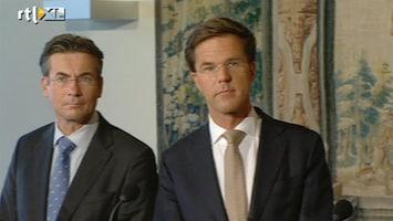 RTL Nieuws Onderhandelingen zwaarste test voor coalitie