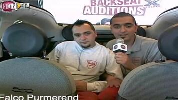 X Factor Fiat 500 Backseat Auditions: Ali en Yavus