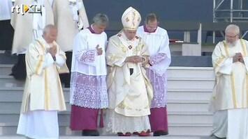 RTL Nieuws Schoten bij bezoek Paus