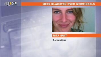 RTL Nieuws Meer klachten over webwinkels