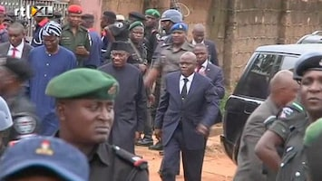 RTL Nieuws Nigeriaanse president bezoekt rampplek