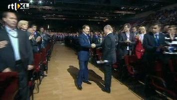 RTL Nieuws Medvedev geeft stokje weer over aan Poetin