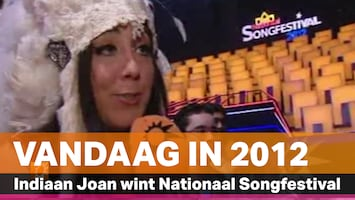 Vandaag in 2012: Joan Franka wint Nationaal Songfestival