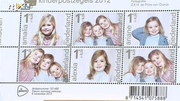 RTL Nieuws Prinsesjes op Kinderpostzegels 2012
