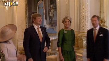 RTL Nieuws Kennismakingsbezoek koningspaar aan Luxemburg