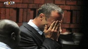 RTL Nieuws Pistorius in tranen bij voorgeleiding