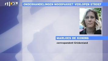 RTL Nieuws Griekenland dreigt uit de euro te stappen