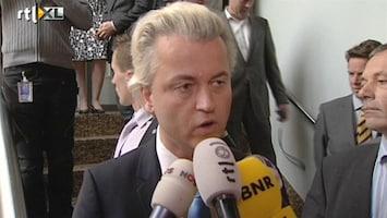 RTL Nieuws Reactie Geert Wilders