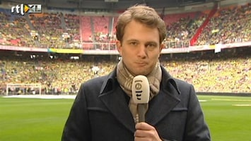 RTL Nieuws Verslaggever in Arena: 'Het is druk hier'