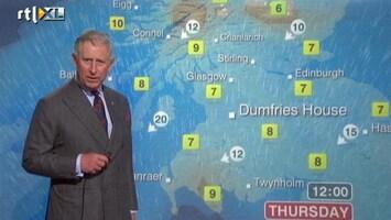RTL Nieuws Prins Charles presenteert weerbericht BBC