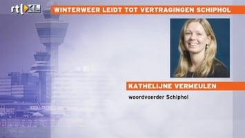 RTL Nieuws 40 vluchten op Schiphol geannuleerd, veel vertragingen