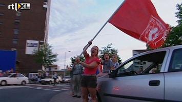 RTL Nieuws Dronken van geluk na bekerwinst Twente