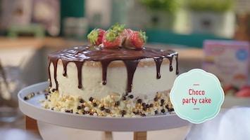 Bakken Doe Je Zo - Choco-partycake