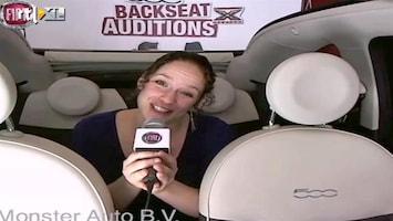 X Factor Fiat 500 Backseat Auditions: Elisjeba