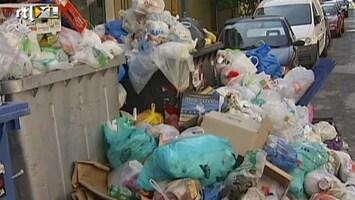 RTL Nieuws Athene verandert in vuilnisbelt