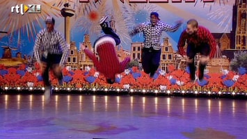 Holland's Got Talent Looney Tunes (dans)