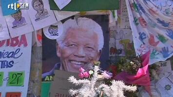 RTL Nieuws Nelson Mandela thuis verder verzorgd