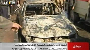 RTL Nieuws Autobommen in Damascus: zeker 40 doden