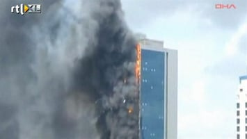 RTL Nieuws Geen gewonden bij grote brand Istanboel