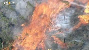 RTL Nieuws Bosbrand bedreigt stadje in Australië