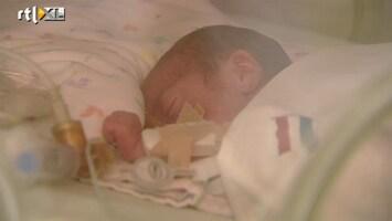 RTL Nieuws Baby's inenten tegen ademnood