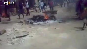 RTL Nieuws Rellen na verkiezingsuitslag Nigeria
