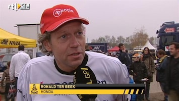 RTL GP: Dakar Pre-proloog Interview Ronald ter Beek