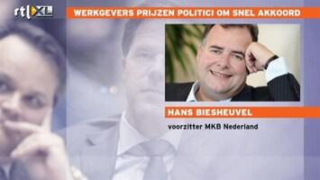 RTL Nieuws MKB: Tijd dat politiek zich herpakt