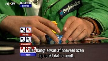 Rtl Poker: European Poker Tour - Uitzending van 25-10-2010