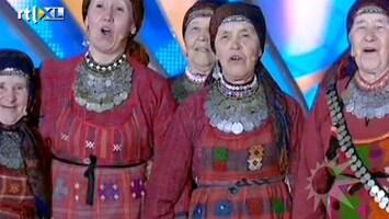 RTL Boulevard Omaatjes voor Rusland naar Songfestival