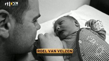 RTL Boulevard Roel van Velzen over zijn pasgeboren zoontje Boaz