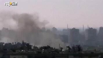 RTL Nieuws Opnieuw zware gevechten in Syrische steden