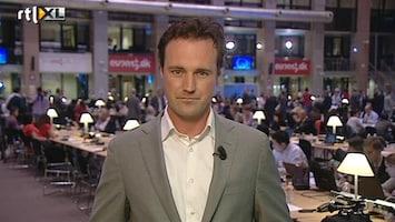 RTL Nieuws Eerste eurotop voor Hollande
