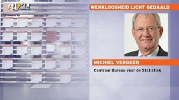 RTL Nieuws Werkloosheid licht gedaald
