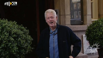 RTL Boulevard Bill Clinton in Nederland!