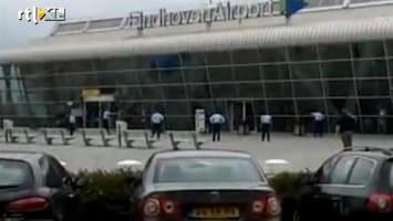 RTL Nieuws Schietpartij vliegveld: 'drop the gun'