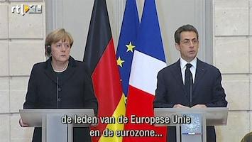RTL Nieuws Merkozy: Nieuwe Europese 'grondwet'