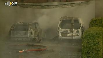 RTL Nieuws Huizen en auto's uitgebrand in Grashoek