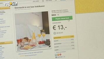 RTL Nieuws Vakantieveilingen worden steeds populairder